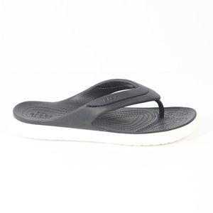 Crocs CitiLane Flip Flop Sandals New Women Black
